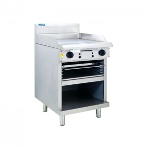 LUUS GTS-6 – 600mm Grill & Griddle Toaster Professional Freestanding