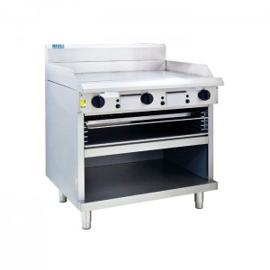 LUUS GTS-9 – 900mm Grill & Griddle Toaster Professional Freestanding
