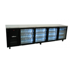 Williams HBS4UGDCBB 4-Door Back Bar Chiller