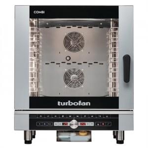 Turbofan EC40D7 Full Size 7 Tray Digital Electric Combi Oven