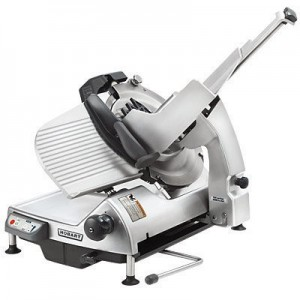Hobart HS9 Gravity Fed 4 Speed Automatic Safety Slicer w/Removable Knife - 330mm