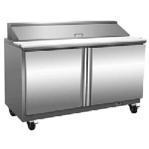 Exquisite ICC550H Two Door Sandwich / Salad Preparation Chiller - 527 Litres