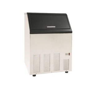 Exquisite IME130 Ice Machine - 15.8 Kg Storage Capacity