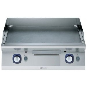 Electrolux 700 XP Series E7IIKDAOMEA 800mm wide Electric Fry Top Griddle with Smooth Chrome Plate