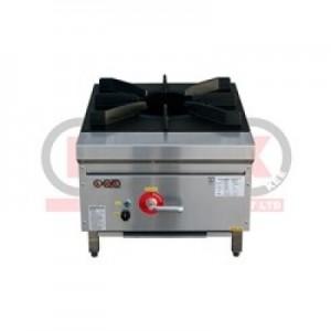 LKK-1BSP Waterless Single Burner Low Profile Gas Wok Cooker