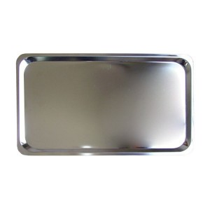 MIXRITE Stainless Steel Tray GN for Oven 325x265x10