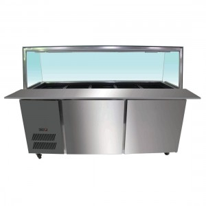PG180FA-YG Chilled Bain Marie 5x1/1 GN Pans