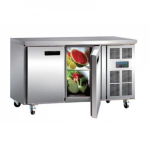 Polar G596-A Two Door Kitchen Counter Fridge