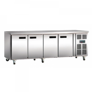Polar G598-A Four Door Kitchen Counter Fridge