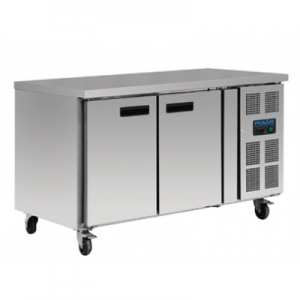 Polar G599-A Two Door Kitchen Counter Freezer
