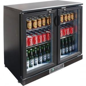 SC248G Two Door Drink Cooler