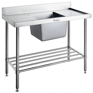 Simply Stainless SS05.7.1200 Single Sink Bench