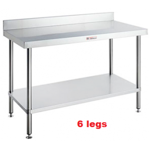 Simply Stainless SS02.1800 Work Bench with Splashback