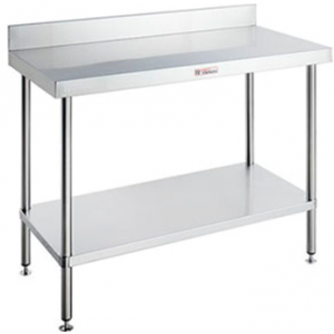 Simply Stainless SS02.0900 Work Bench with Splashback