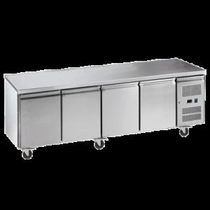 Exquisite SSC550H Snack Size Under Bench Chiller - Solid Doors