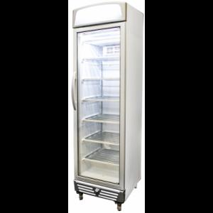 Bromic UF0374LS LED Glass Door Static Freezer w/Lightbox - 300 Litre