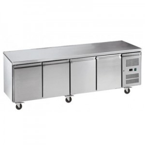 Exquisite USF550H Four Door Underbench Freezer