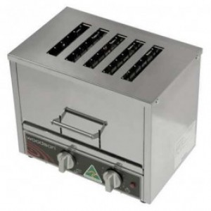 Woodson W.TOV5 Vertical Toaster 5 Slicer Capacity